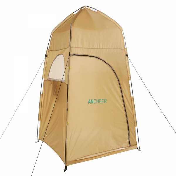 Ancheer Portable Privacy Tent Outdoor Shower Bathing Movable Dressing Waterproof Room Yellow  sc 1 st  Ancheer & AM002924-G.jpg