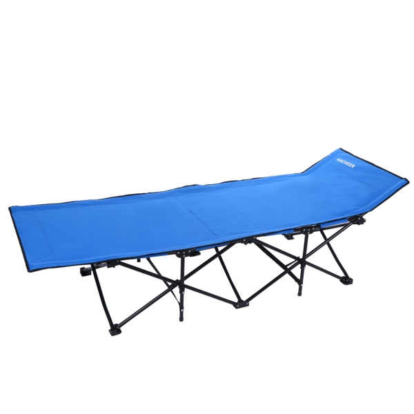 ancheer home office folding portable easy set up sleeping cot camp bed with carry bag camp bed office