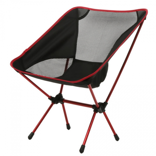 ancheer ultralight camping chair with carrying bag portable heavy duty folding ground chair for outdoor activities - Heavy Duty Folding Chairs